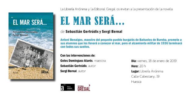 Invitació EL MAR SERÁ_Huesca